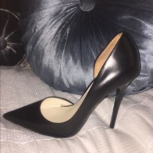 ZARA Collection Black Pointed Toe Stiletto Heel